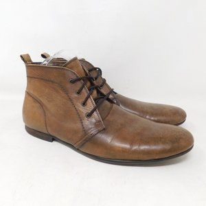 Bedstu Brown Leather Ankle Boots Mens 11